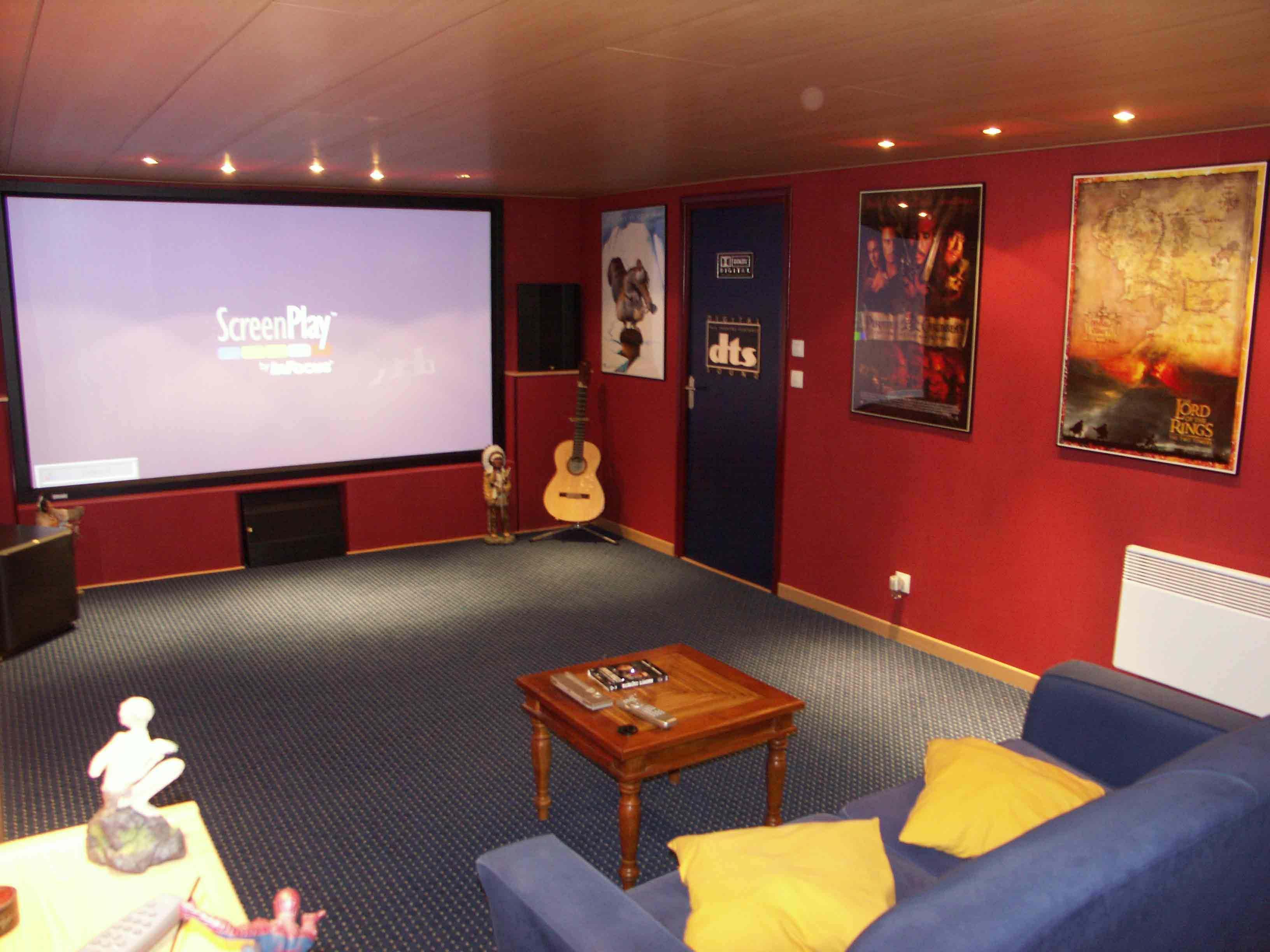 Salle Home Cinema Particulier